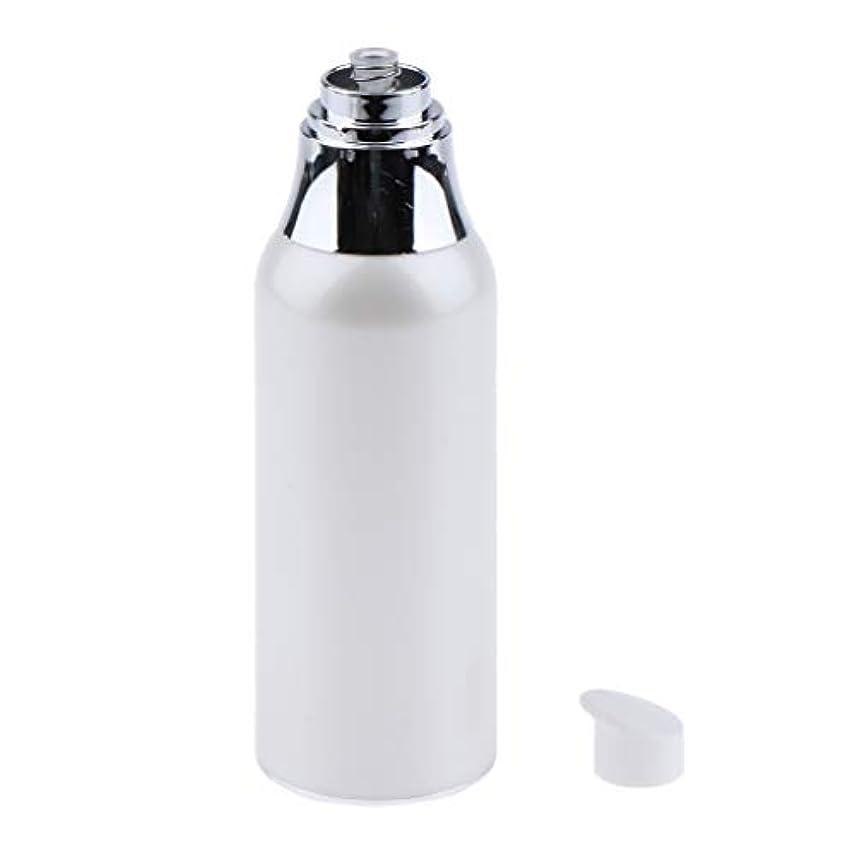 忠誠プロペラサミットメイクアップボトル エアレスポンプボトル 詰替え容器 2サイズ選べ - 100ミリリットル