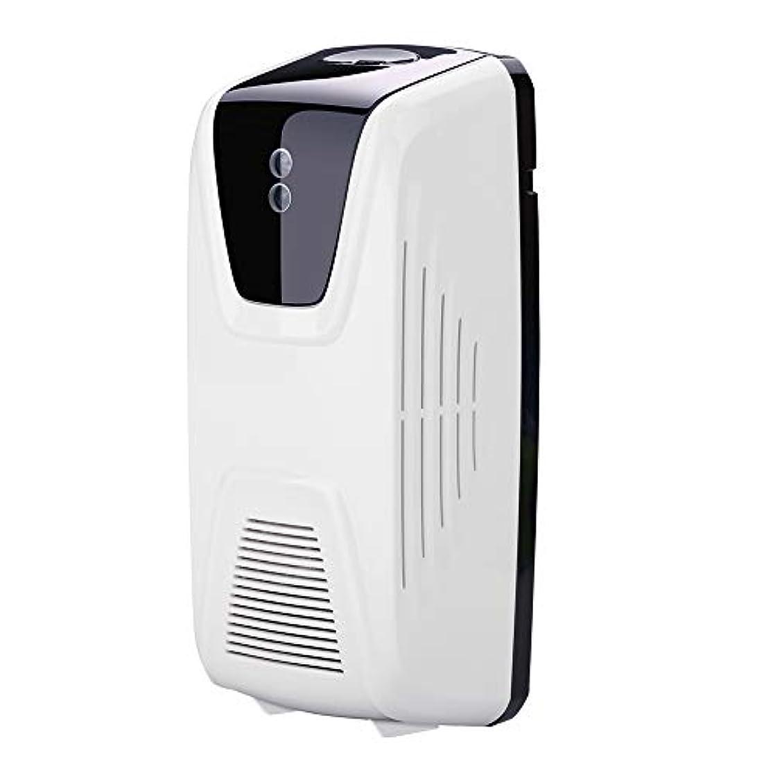 家具テレマコスを必要としていますRakuby ファン型 自動 軽いセンサー 空気清浄 ディスペンサー使用 エッセンシャルオイル 香水詰め替え スプレー缶