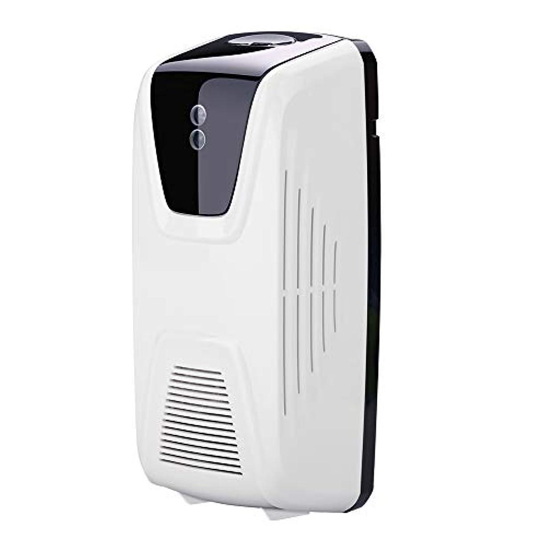 施しサスティーン最終Rakuby ファン型 自動 軽いセンサー 空気清浄 ディスペンサー使用 エッセンシャルオイル 香水詰め替え スプレー缶