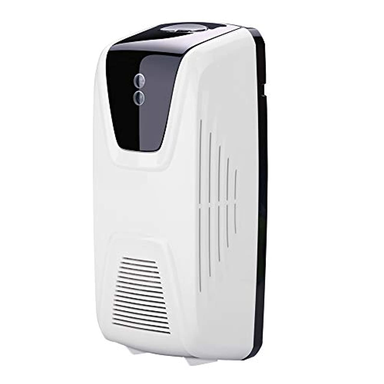 白鳥食料品店テクトニックRakuby ファン型 自動 軽いセンサー 空気清浄 ディスペンサー使用 エッセンシャルオイル 香水詰め替え スプレー缶
