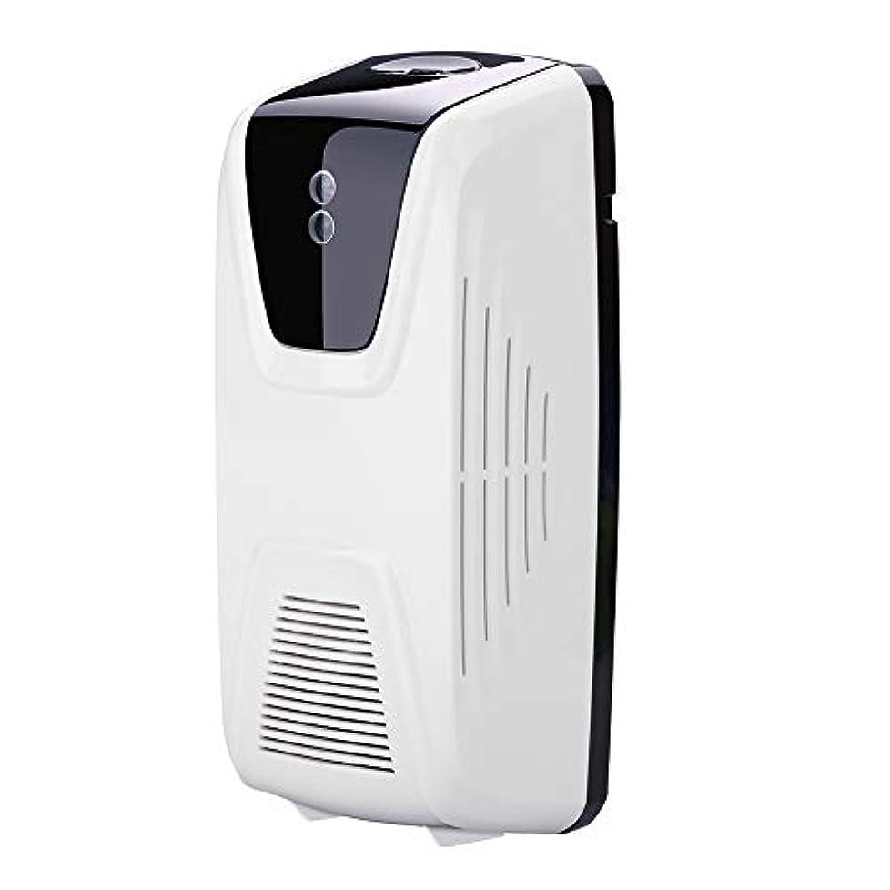 噴水どちらも運ぶRakuby ファン型 自動 軽いセンサー 空気清浄 ディスペンサー使用 エッセンシャルオイル 香水詰め替え スプレー缶