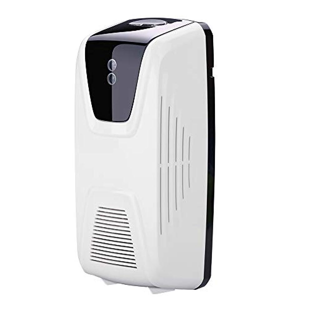 見通しだらしないハンサムRakuby ファン型 自動 軽いセンサー 空気清浄 ディスペンサー使用 エッセンシャルオイル 香水詰め替え スプレー缶