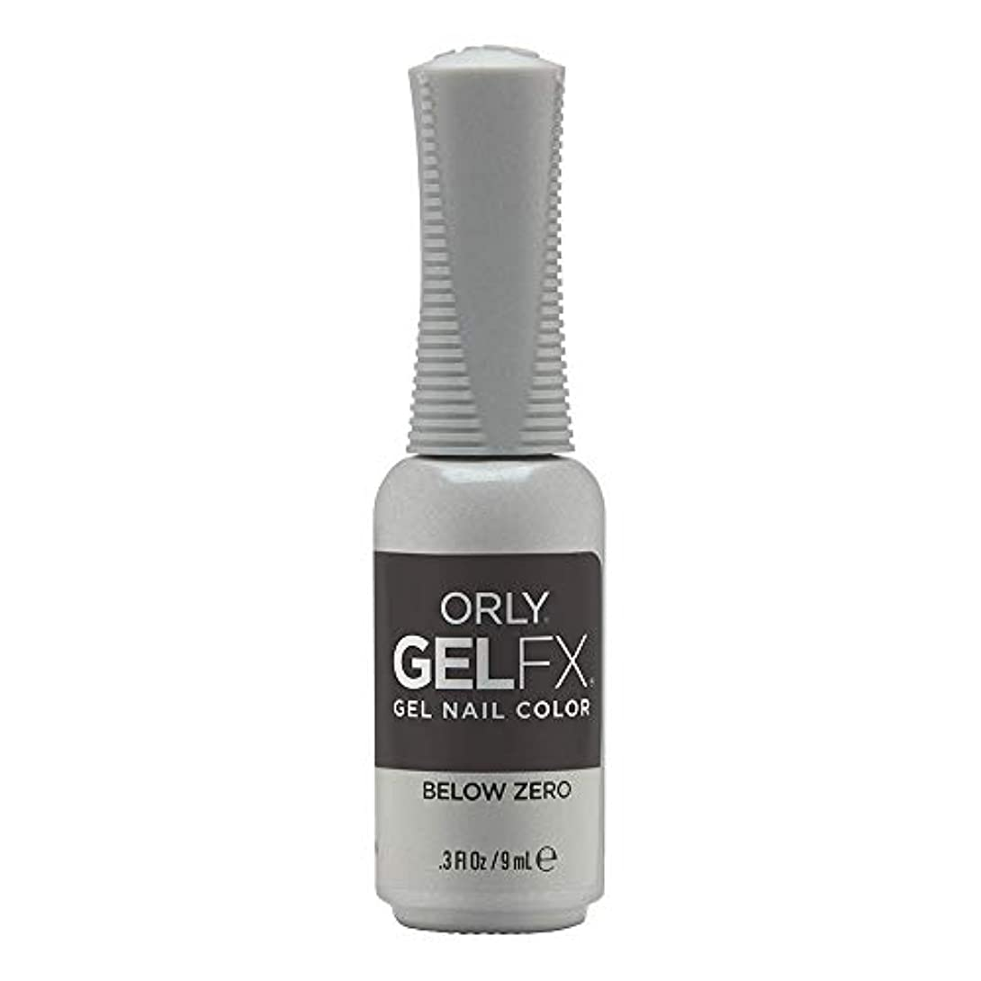 価値のない削減超えてOrly Gel FX - Arctic Frost Winter 2019 Collection - Below Zero - 0.3oz / 9ml