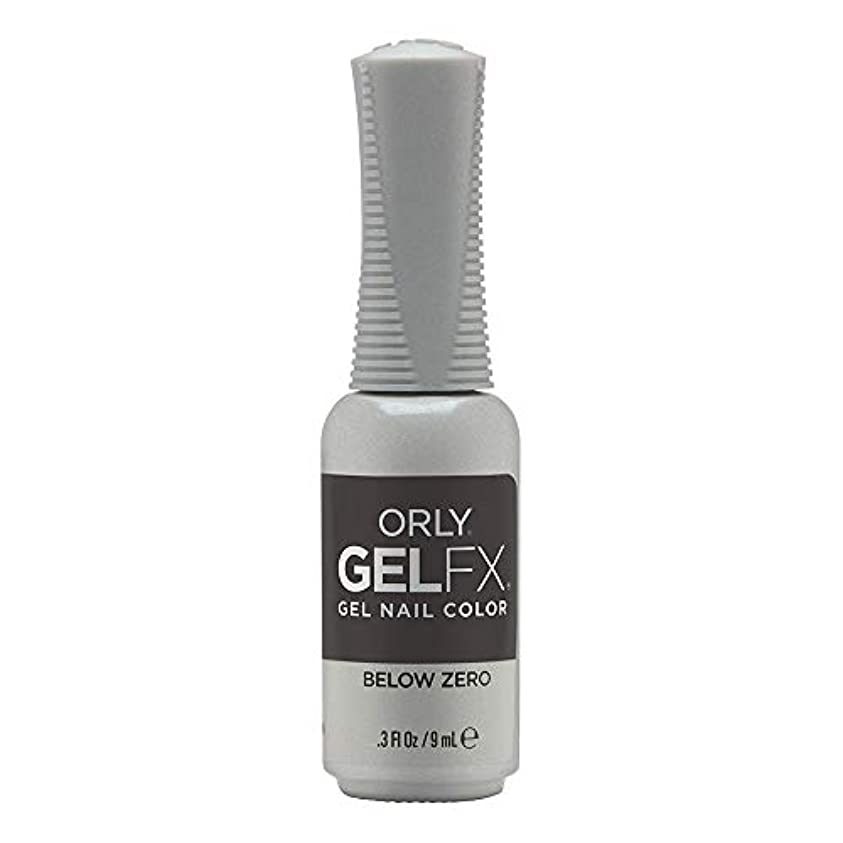 スリラー鉛筆クルーOrly Gel FX - Arctic Frost Winter 2019 Collection - Below Zero - 0.3oz / 9ml