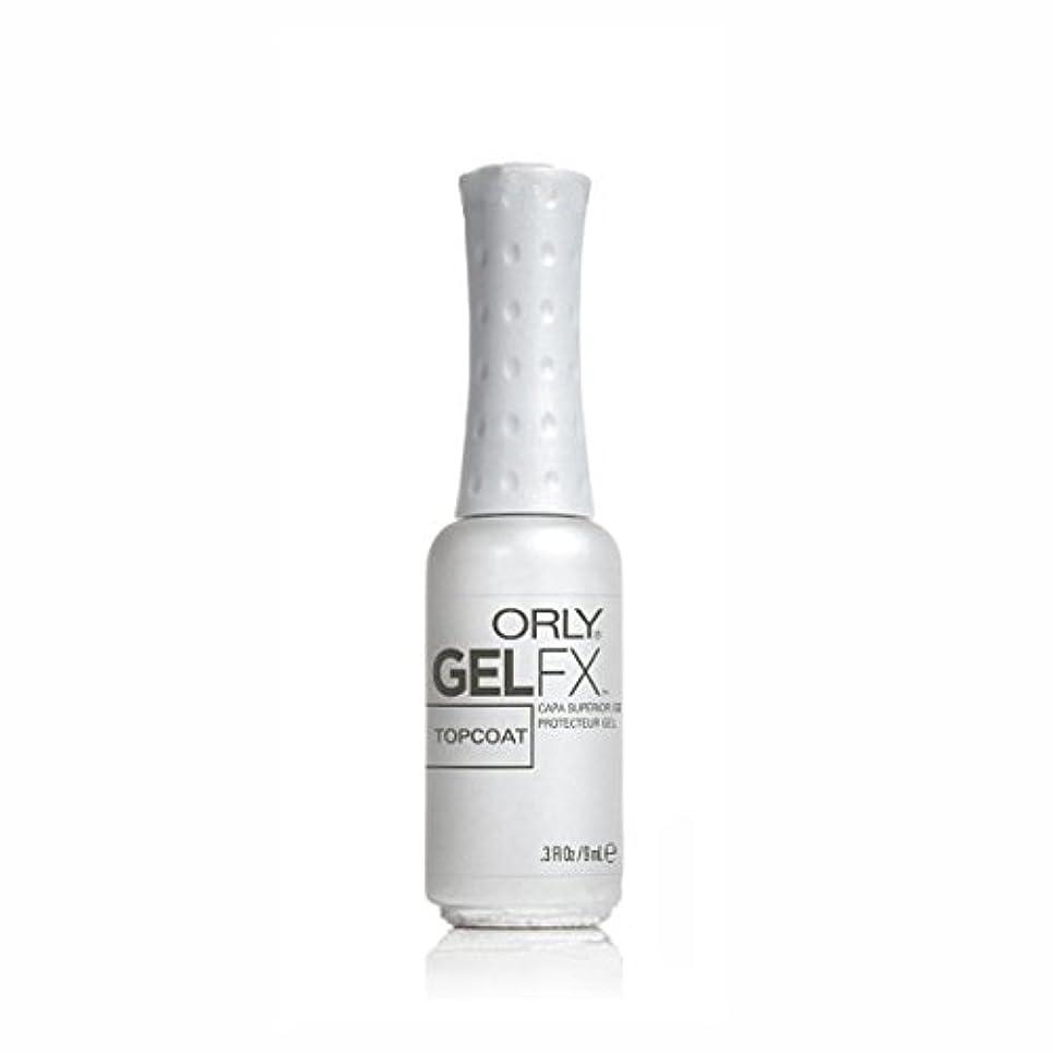 進行中残基認知ORLY(オーリー)ジェルFXトップコート 9ml #34210