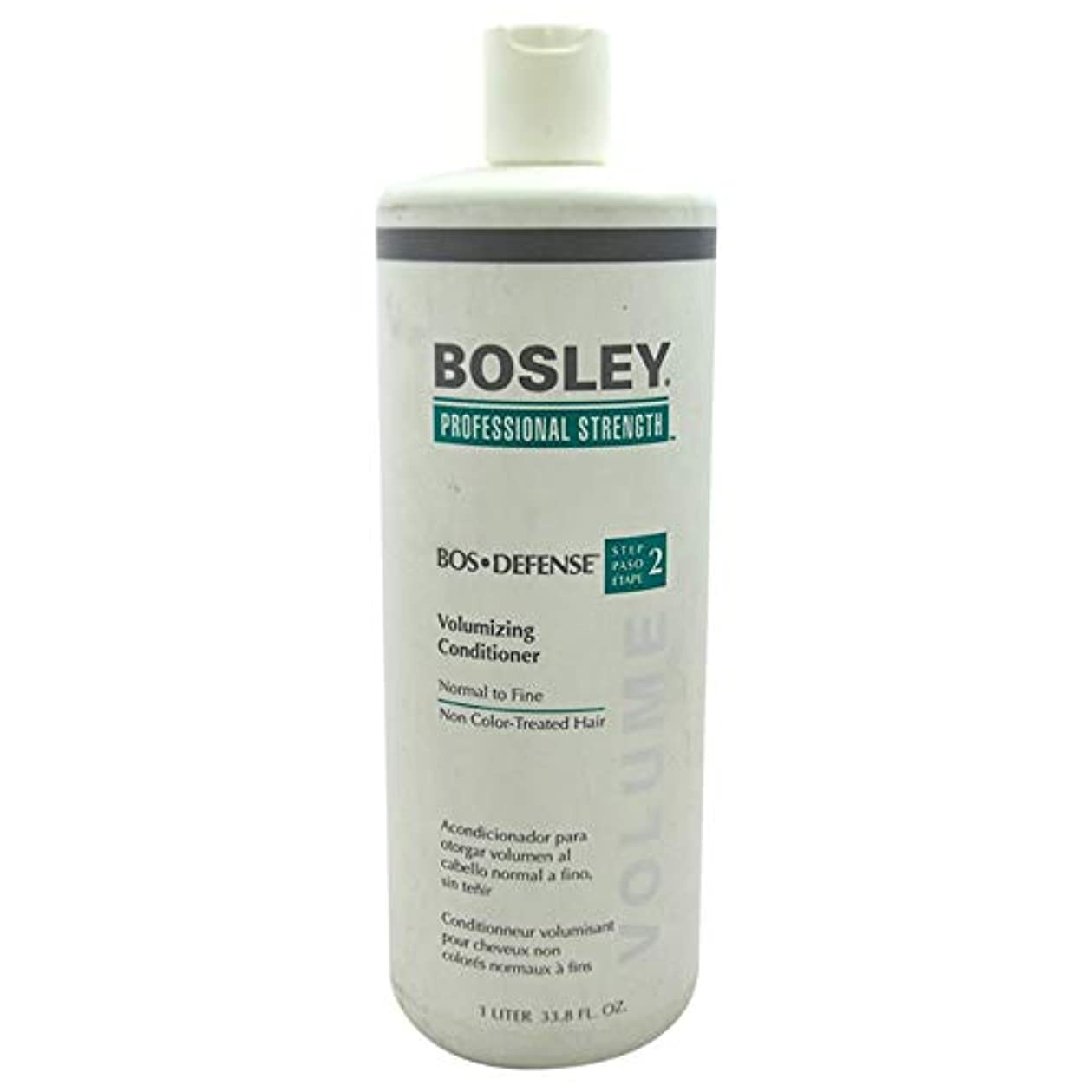 助手ねばねば粒Professional Strength Bos Defense Volumizing Conditioner (For Normal to Fine Non Color-Treated Hair) 1000ml/33.8oz