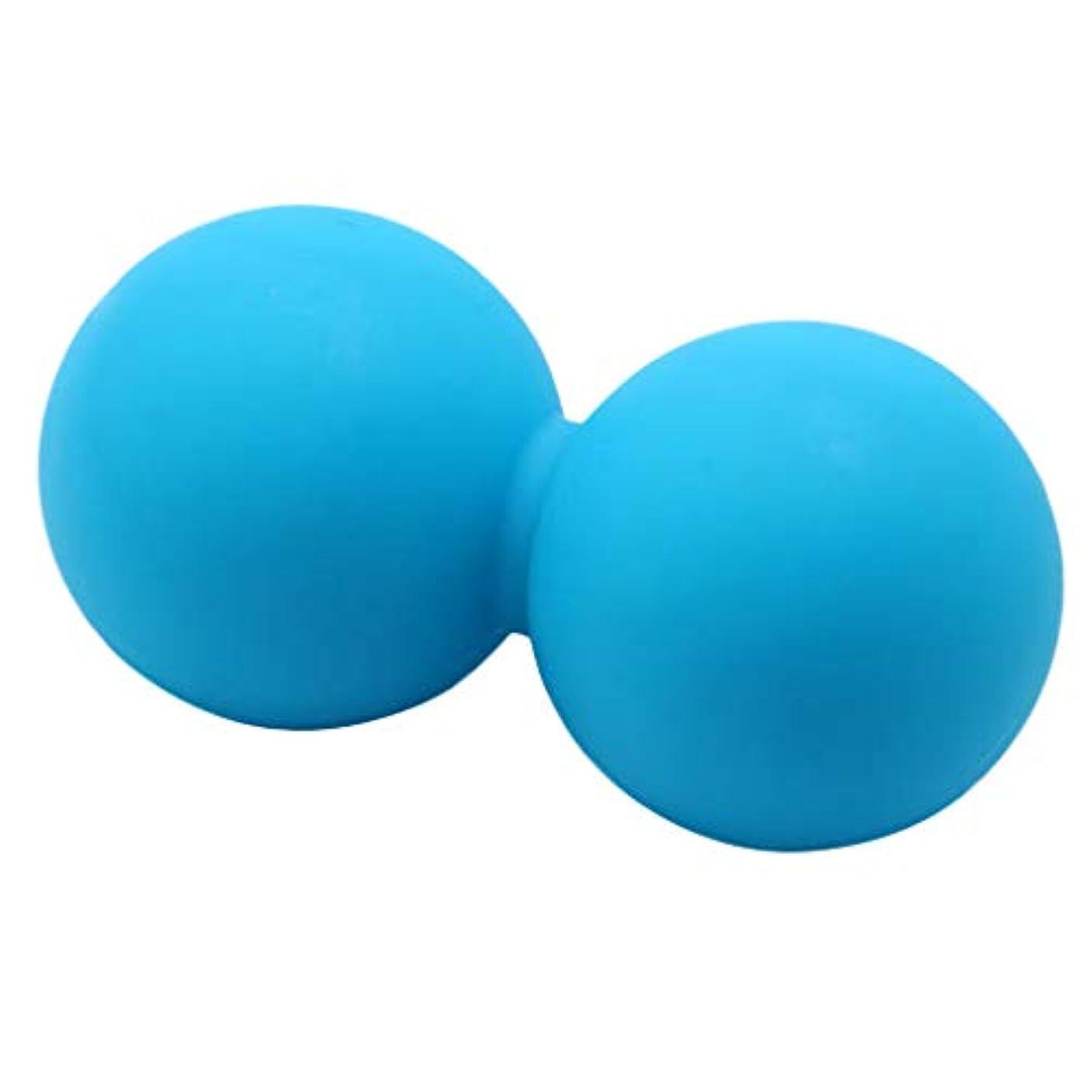 沈黙比較的バレーボールPerfeclan マッサージボール ピーナッツ ダブルラクロス トリガーポイントマッサージ