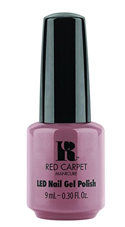喜劇散歩選挙Red Carpet Manicure - LED Nail Gel Polish - Call My Agent - 0.3oz/9ml