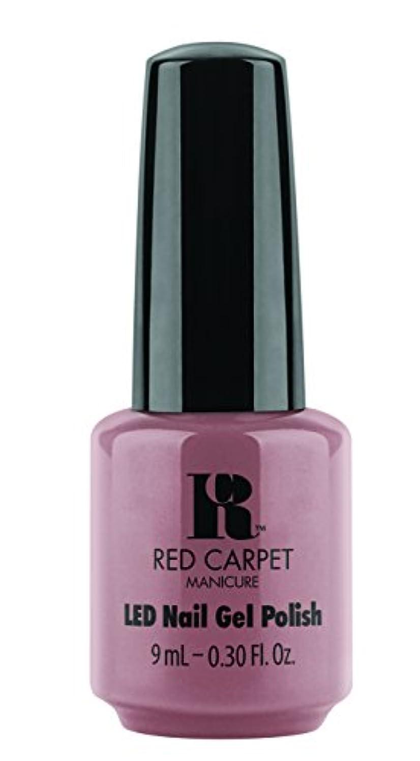 親愛なうまくやる()朝の体操をするRed Carpet Manicure - LED Nail Gel Polish - Call My Agent - 0.3oz/9ml