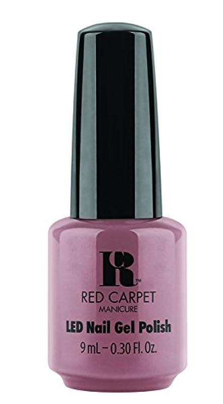 見積りあなたが良くなりますビルRed Carpet Manicure - LED Nail Gel Polish - Call My Agent - 0.3oz/9ml