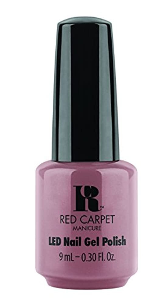 食料品店散歩に行くとにかくRed Carpet Manicure - LED Nail Gel Polish - Call My Agent - 0.3oz/9ml