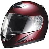 マルシン(MARUSHIN) バイクヘルメット フルフェイス M930 ワインレッド フリーサイズ(57~~60CM)