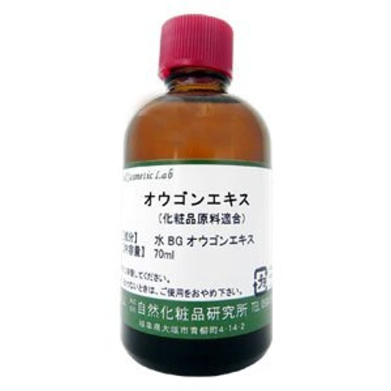 リズム不条理うつオウゴンエキス 70ml 【手作り化粧品原料】