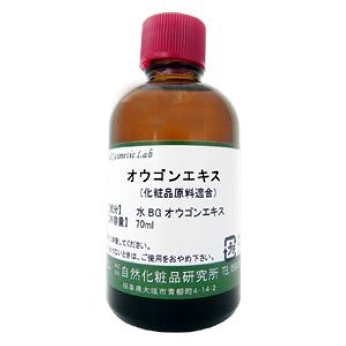ラベンダー皮肉な入学するオウゴンエキス 70ml 【手作り化粧品原料】