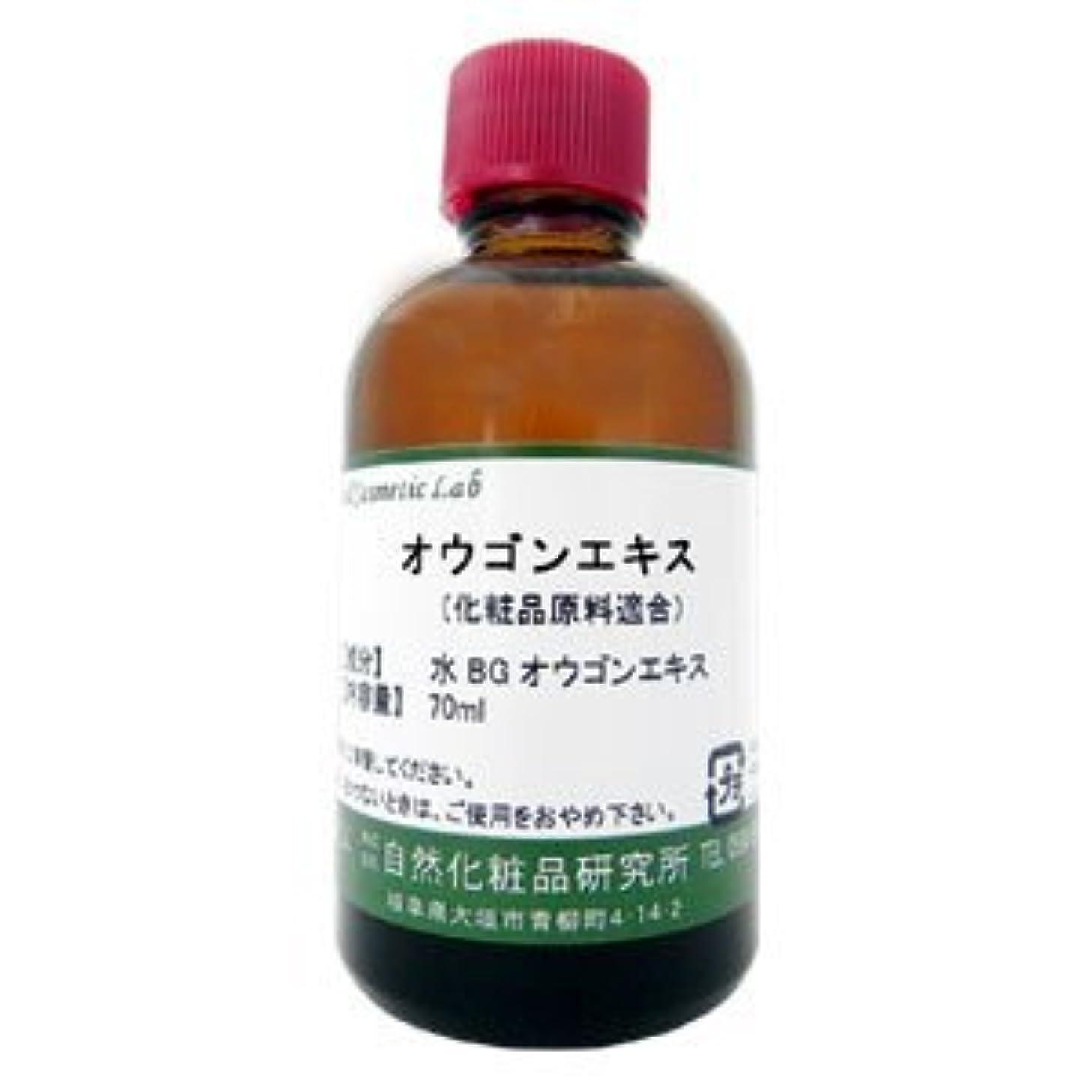 注意ゴミ不規則なオウゴンエキス 70ml 【手作り化粧品原料】