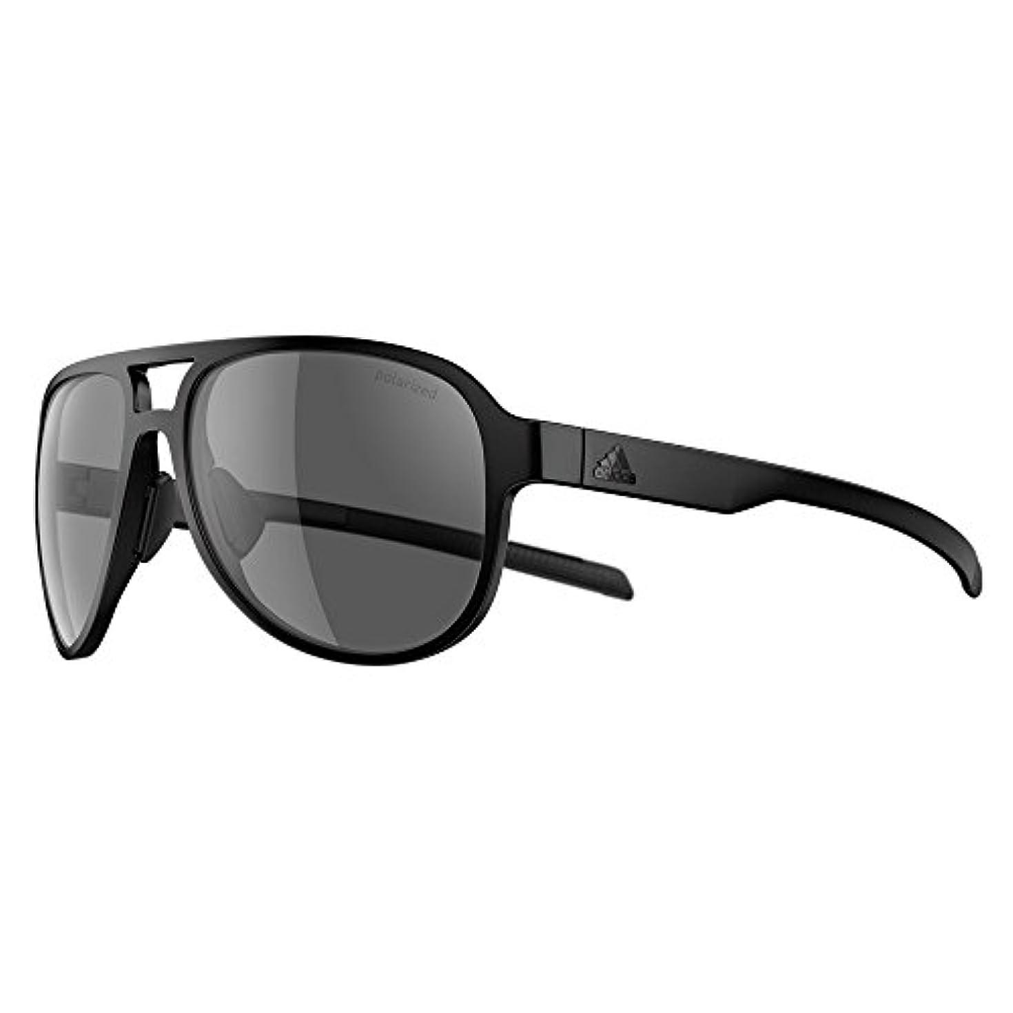 読者性格未使用adidas(アディダス) サングラス PACYR 偏光レンズ UV100%カット ad33 75 9200 ブラックマット