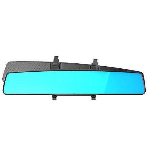 車内 死角なし 曲面鏡 超広角バックミラー ワイドバックミラー 400mm