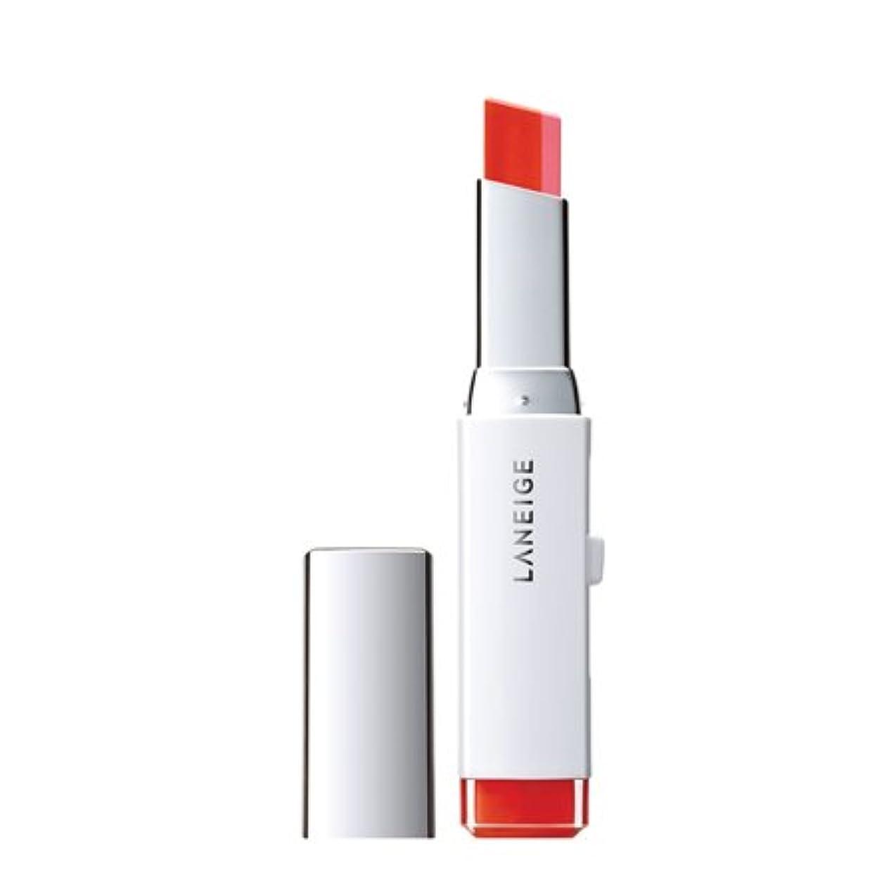 感度塊酸ラネージュ(LANEIGE)ツートーンリップバー(Two tone lip bar)2g カラー:3号 ピンクシャルマン
