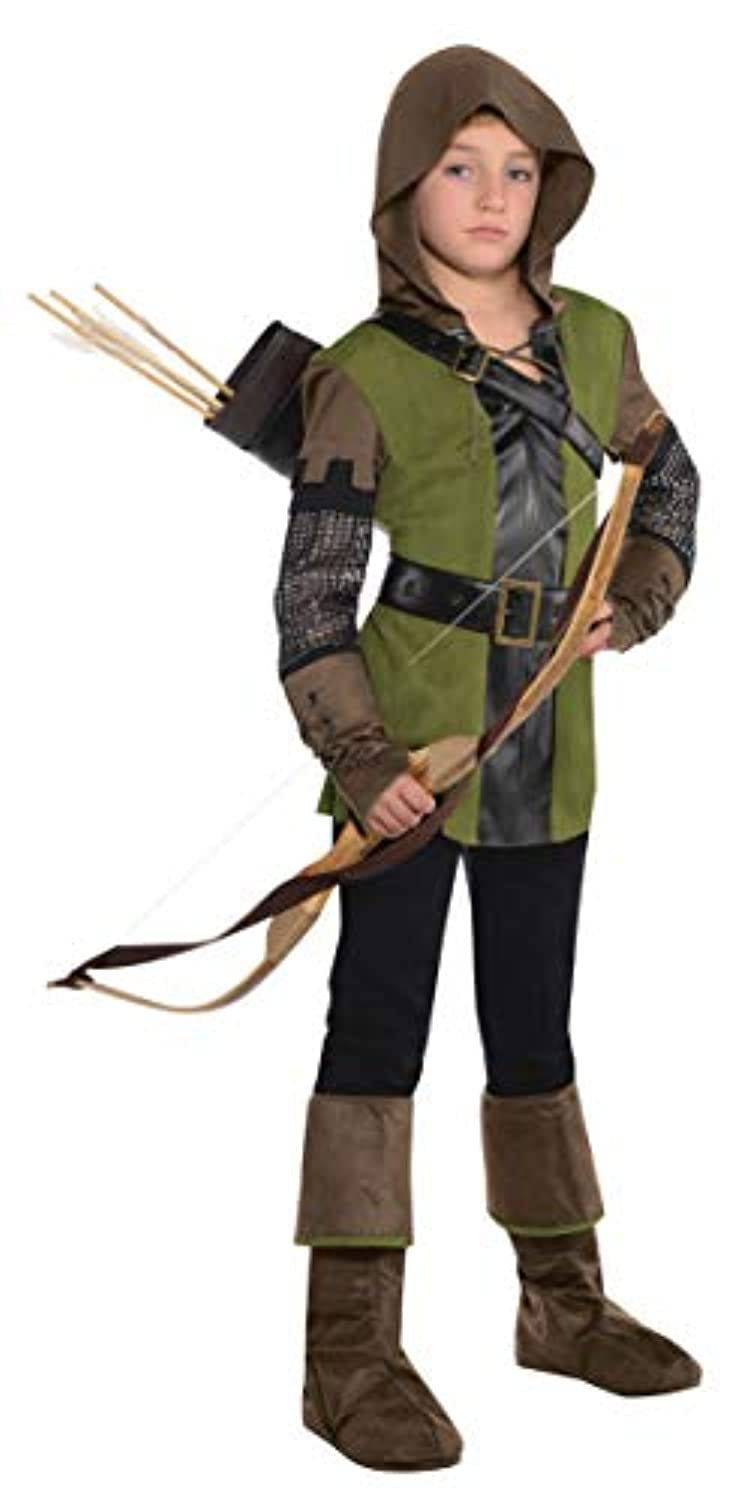 (12-14 years) - Childs Christys Dress Up Prince Of Thieves Robin Hood Fancy Dress Boys Costume