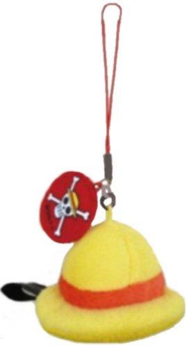 [해외]원피스 모자 형 클리너 스트랩 루피/One Piece Hat Type Cleaner Strap Luffy
