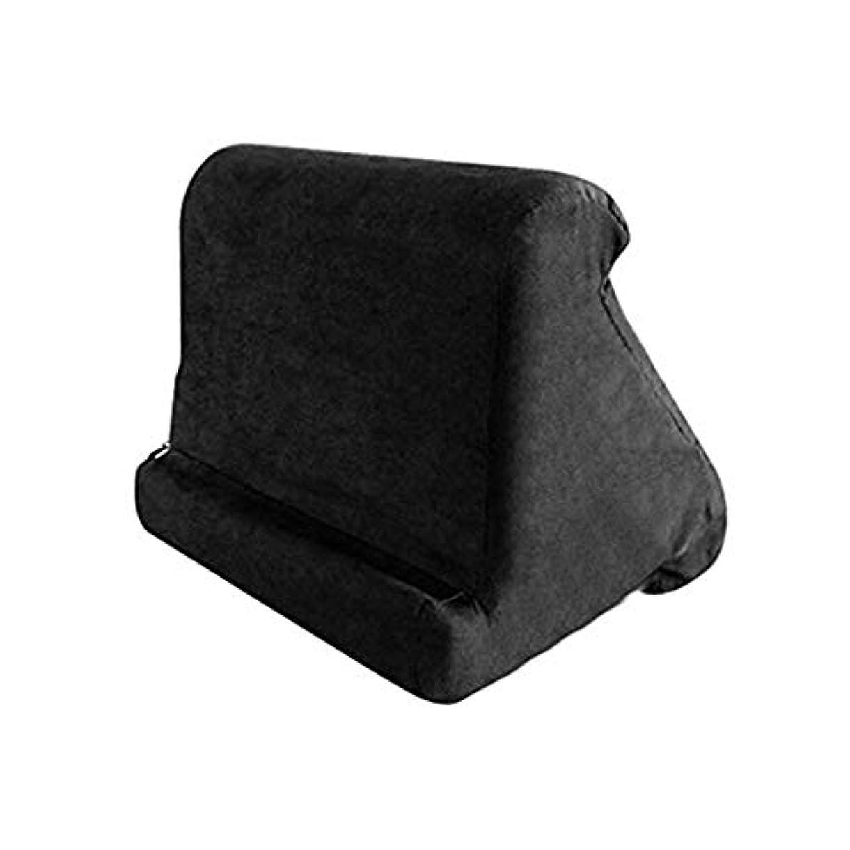 作成者しなやかかき混ぜるLIFE 家庭用タブレット枕ホルダースタンドブック残り読書サポートクッションベッドソファマルチアングルソフト枕ラップスタンドクッション クッション 椅子