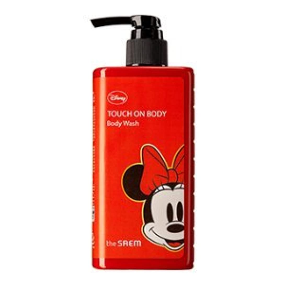 環境に優しい詐欺師鈍い(The Saem X Disney )Touch On Body Acerola Body Wash 300ml / ザセム タッチオンボディーアセロラボディーウォッシュ (ディズニーエディション) [並行輸入品]