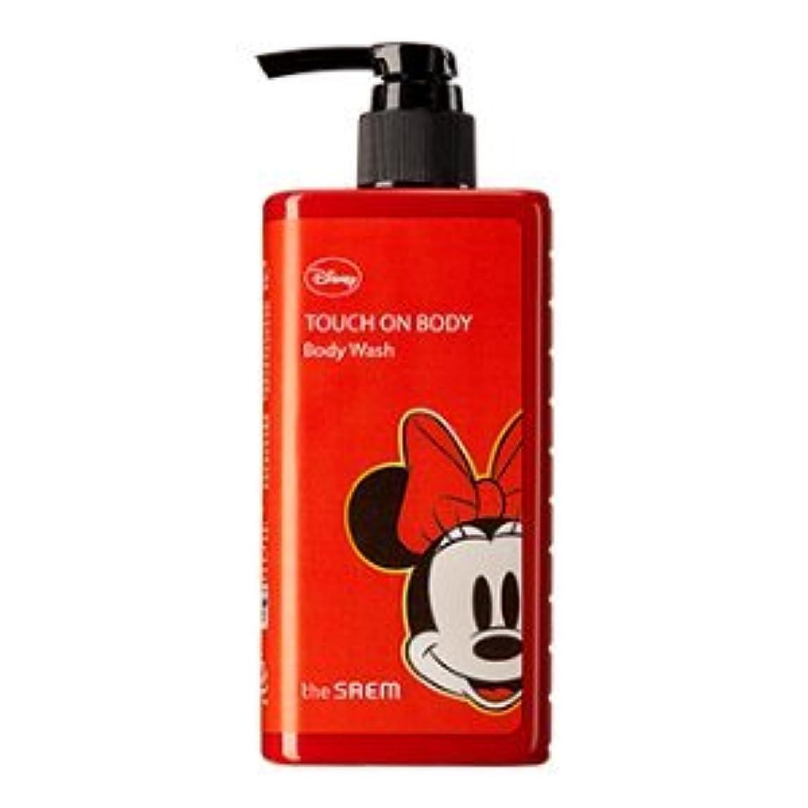 並外れた早熟シリンダー(The Saem X Disney)Touch On Body Acerola Body Wash 300ml / ザセム タッチオンボディーアセロラボディーウォッシュ (ディズニーエディション) [並行輸入品]