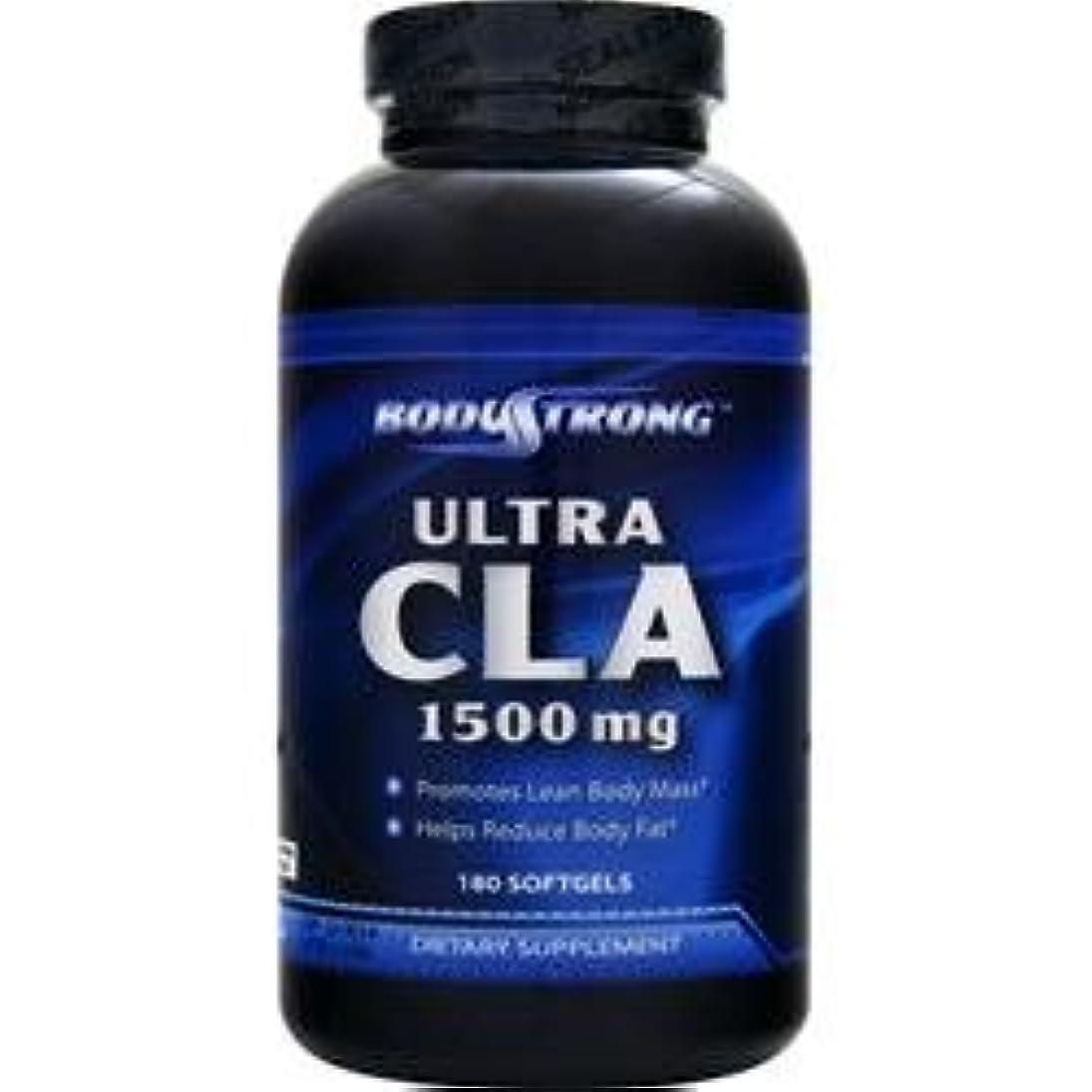 コピー和解する機構BodyStrong ウルトラCLA 1500mg (Ultra CLA) (180ソフトジェル)