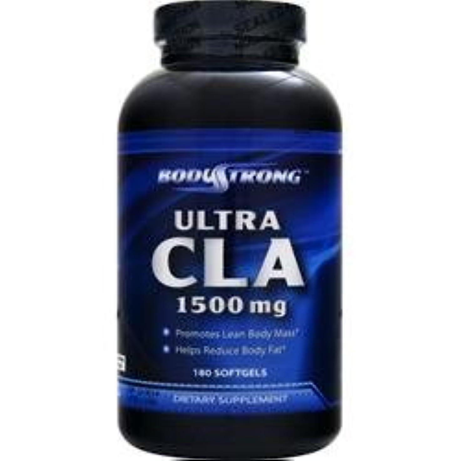 もっと毎月穏やかなBodyStrong ウルトラCLA 1500mg (Ultra CLA) (180ソフトジェル)