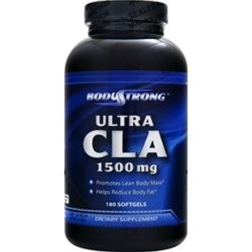 肉のピンチほめるBodyStrong ウルトラCLA 1500mg (Ultra CLA) (180ソフトジェル)