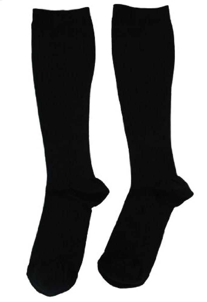 芸術キャメル形容詞エンバランス 美 着圧ソックス ブラック Mサイズ T41080