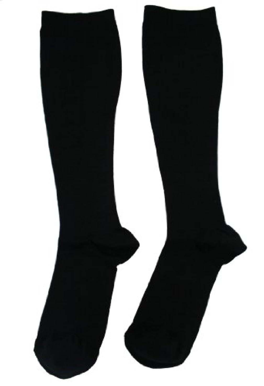 絡み合い風変わりな十代の若者たちエンバランス 美 着圧ソックス ブラック Mサイズ T41080