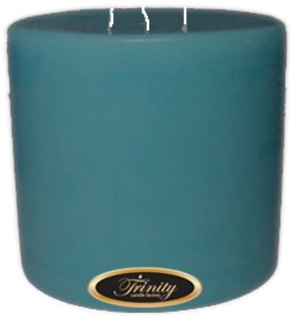 平和な注入下るTrinity Candle工場 – マウイBreeze – Pillar Candle – 6 x 6