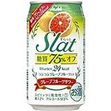 アサヒ SLAt(すらっと)果肉入りグレープフルーツ 350ml×24本
