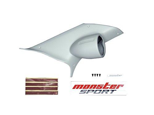 MONSTER SPORT ピラーメーターフード/φ60 アルト ワークス ターボRS HA36S グレー 追加 ブースト 水温 油温 油圧/851510-7300M