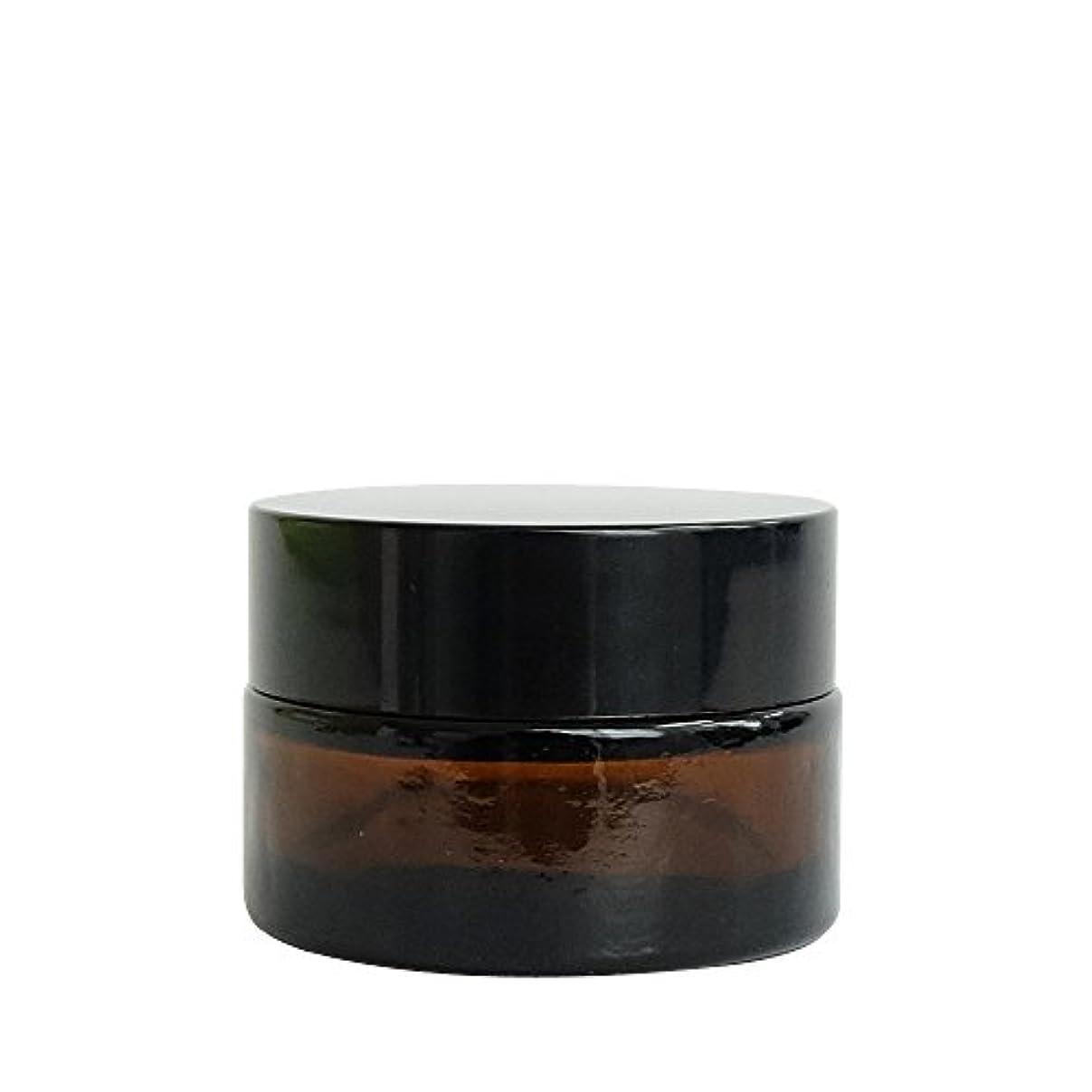 満員つかの間塗抹ease 遮光ジャー 茶色 20g用×30個