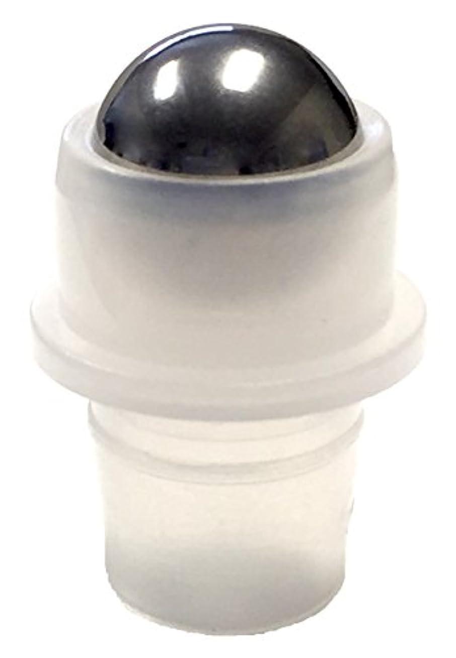 追い越す消化幹10ミリリットル(1/3オンス)ロールオンボトル交換ボール - スチール - 12のパック