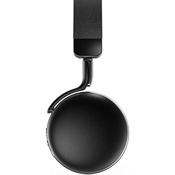 AudioMX Bluetooth ヘッドホン 小型 ワイヤレス Bluetooth 4.1 無線 有線可能 高音質 オンイヤー ハンズフリー通話 タブレットPC スマートフォンなどに対応 ブラック MX10