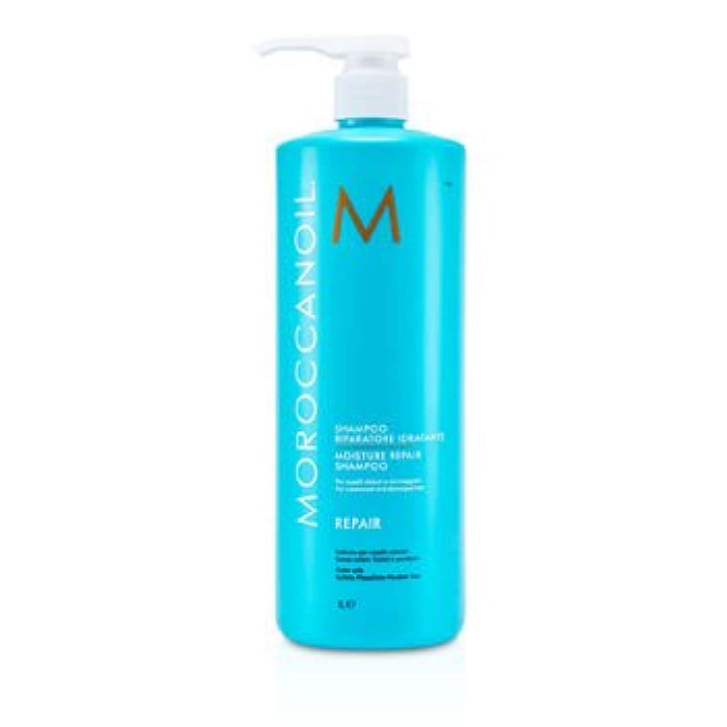マナー乳白ダブルモロッカンオイル モイスチャーリペアシャンプー (カラー/ケミカリーダメージドヘア) 1000ml/33.8oz並行輸入品