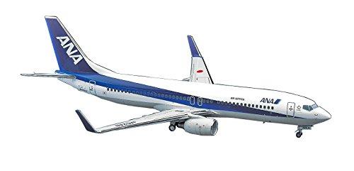 Hasegawa 1/200 B737-800 ANA Triton blue plastic model 37