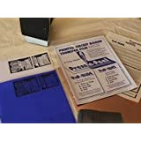 Press-n-Peel Blue Transfer Film パターン転写シート Techniks社製 5枚入り