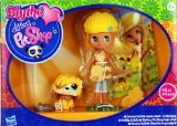 [リトレスト・ペットショップ]Littlest Pet Shop Blythe Loves Colourfully Cute Collection Groovy Gold Blythe &Mop Dog and Accessories! 36964 [並行輸入品]