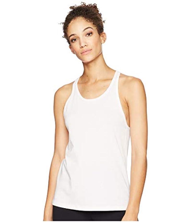 ささやきカートリッジである[new balance(ニューバランス)] レディースタンクトップ?Tシャツ Heather Tech Tank Top Himalayan Pink Heather M