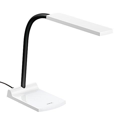 LEDスタンドライト 白 置き形直下照度1500 lx消費電力7W 1個