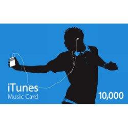 Apple iTunes Music プリペイドカード 10,000円 [MA165J/A]