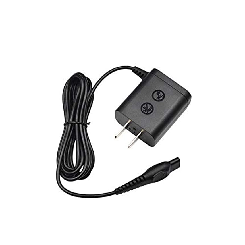 引用芸術的薬用AC Adapter for シェーバー Philips H0912 HQ915 H0916 HQ913 HQ902 HQ904 HQ906 HQ909 HQ914 HQ917 HQ986 HQ988 AT600 AT610 AT620 AT630 などに適応 8V/0.1A 0.8W 電源アダプター TJK