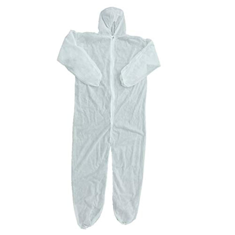 安全性出発する負荷セキュリティ保護衣類使い捨てカバーオール防塵服隔離服労働服ワンピース不織布