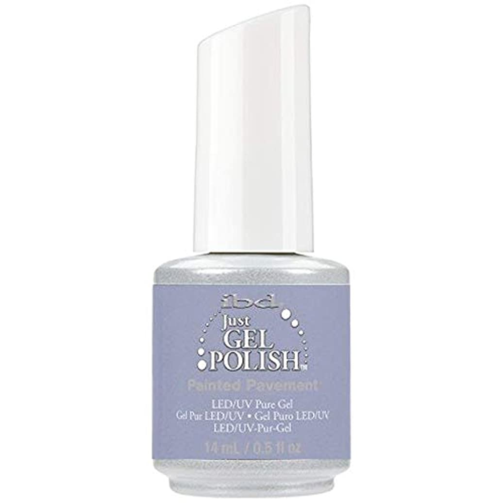 銀行時期尚早壮大なibd Just Gel Nail Polish - Painted Pavement - 14ml / 0.5oz