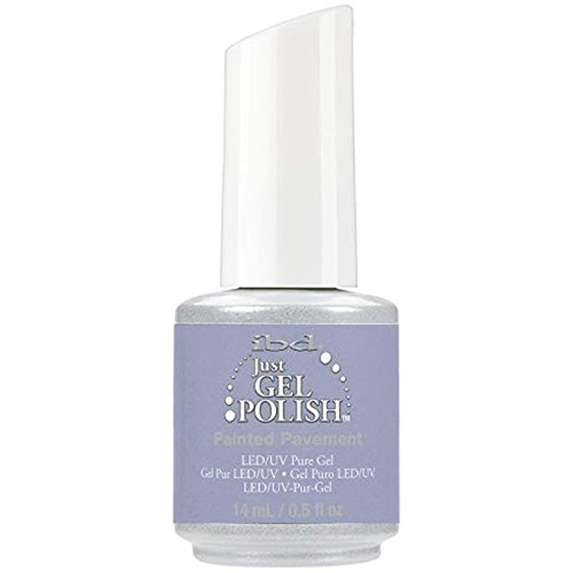 殺しますボウリング女性ibd Just Gel Nail Polish - Painted Pavement - 14ml / 0.5oz