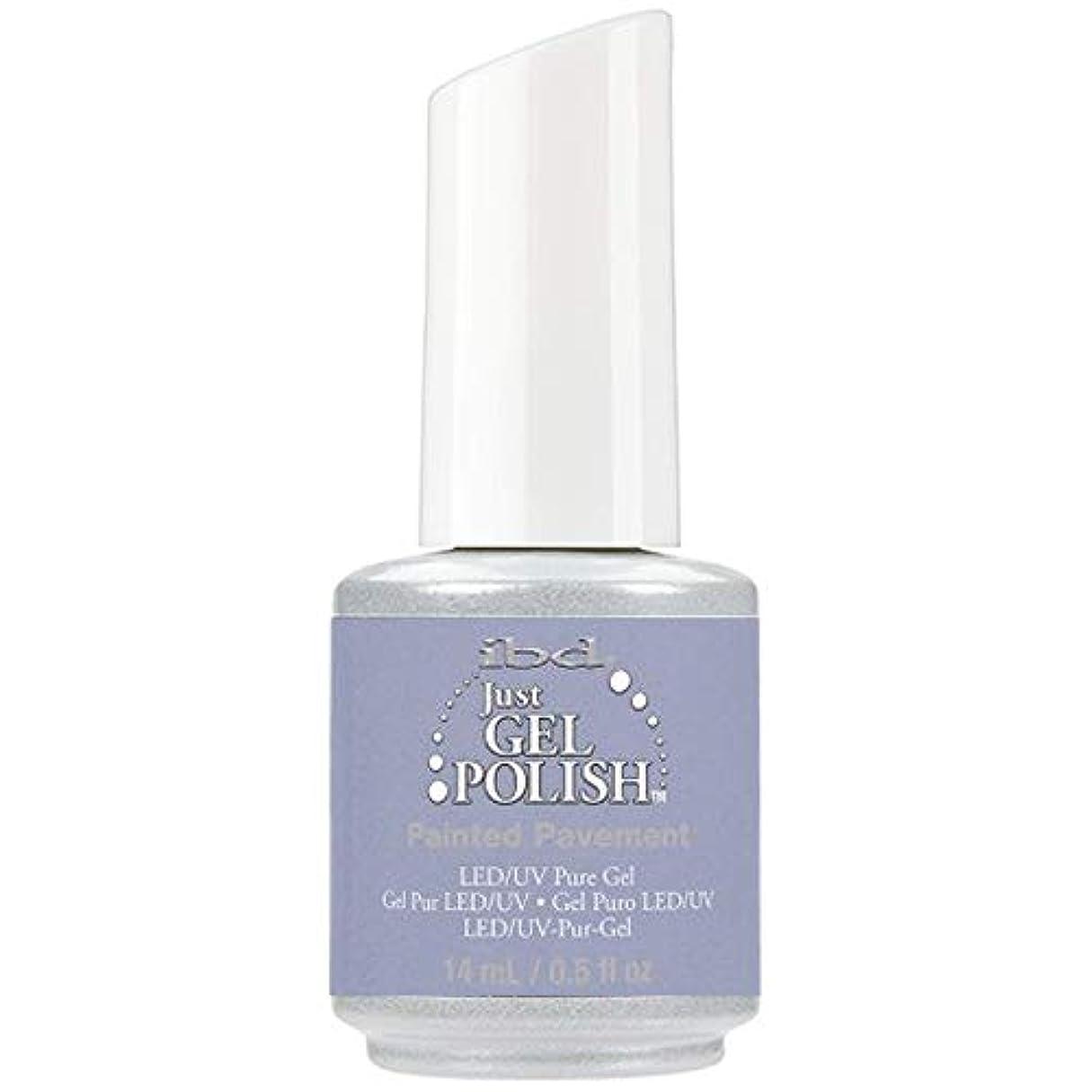 適応創造干ばつibd Just Gel Nail Polish - Painted Pavement - 14ml / 0.5oz